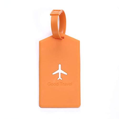 Euopat Bagage Tags, Luchtvaartuig Bagage Tag, Bagage Labels Voor Koffers ID Reislabels Voor Vrouwen, Mannen, Anti-diefstal Identificatie Reiskoffer Tag