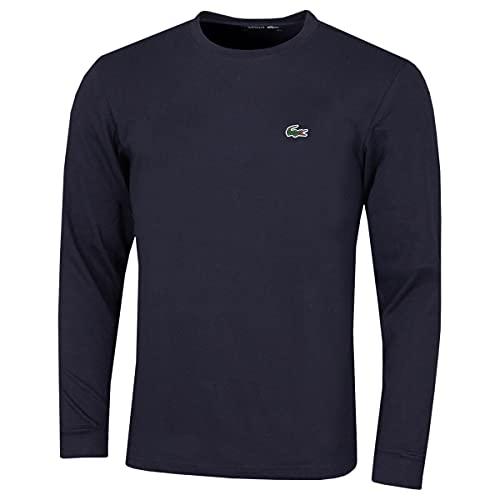 Lacoste TH0123 T-Shirt, Marine, L Uomo