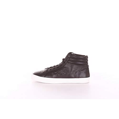 Karl Lagerfeld Herren Schuhe Sneaker KL51355 000 Skool Karl Signia Lace HI Black