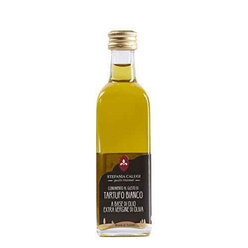 Calugi Condimento al Gusto di Tartufo Bianco a Base di Olio Extra V.O. - 60 ml