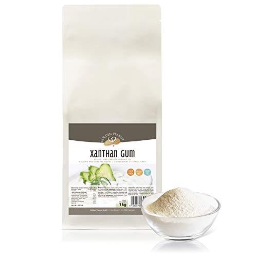 Xanthan Gum 1 kg de espesante natural | estabilizador | sabor neutral | alta viscosidad | Peanut dorado