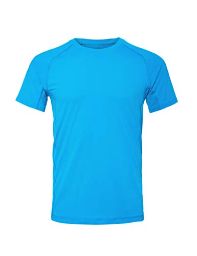 CARE OF by PUMA Herren-Trainings-T-Shirt, Blau (Indigo Bunting), XS, Label: XS