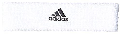adidas Tennis Headband Schweißstirnband, White/Black, OSFM