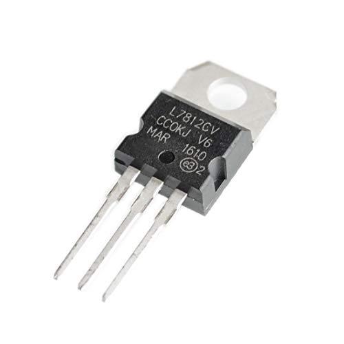 10PCS L7812CV TO-220 L7812 LM7812 7812 Reguladores de voltaje positivo