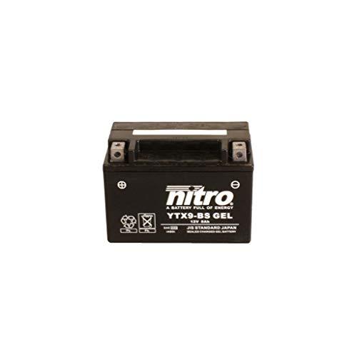 Batería 12V 8AH YTX9-BS Gel Nitro 50812 Bonneville Bobber ABS DV01 17