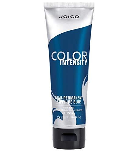 Joico Intensity Semi-Permanent Hair Color, Sapphire Blue, 4 Ounce