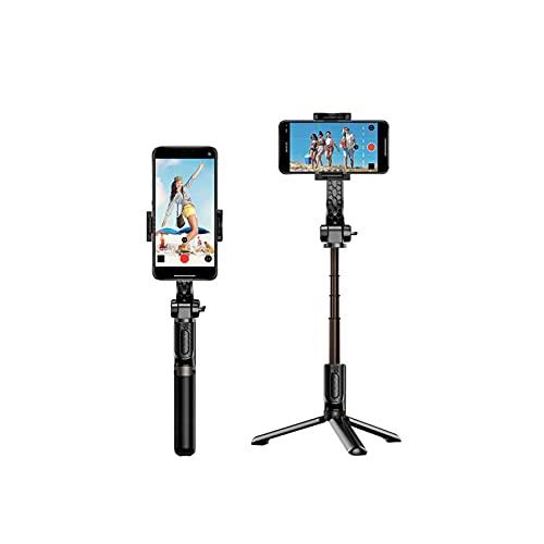 WGLL Portátil y trípode del Selfie portátil, Extensible, Bluetooth Remote, Todo en uno, Aluminio Ligero, Fotos, Video
