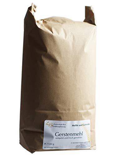 2,5 kg Gerstenmehl, vollkorn, frisch gemahlen
