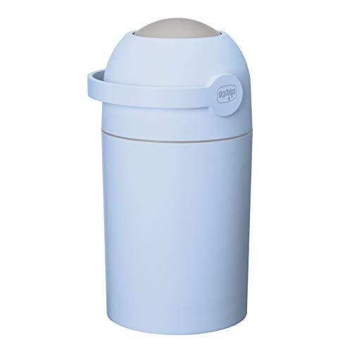 Chicco Windeleimer Odour OFF, - geruchsdichtes System, herkömmliche Tüten verwendbar, light blue