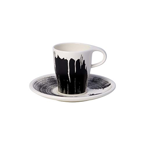 Villeroy & Boch 10-4248-9121 Coffee Passion Awake Espresso-Set, Premium Porzellan, 6 Fluid_Ounces