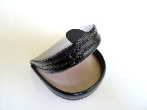 コードバンコインケース(馬蹄型小銭入れ)SN-1(日本製)サイフウォレット馬革CORDOVAN(ブラック)