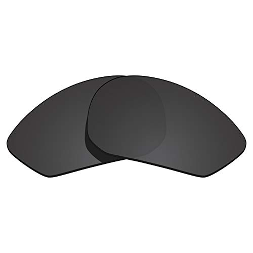 Glintbay 100% Precise-Fit Replacement Sunglass Lenses for Rudy Project Zyon - Polarized Advanced Black