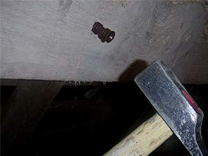 Inyector marrón x500, para inyección de madera.