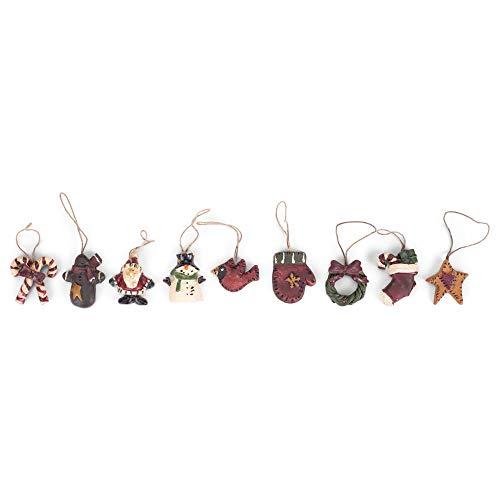 Mini Primitive Ornaments Set/9 (1)