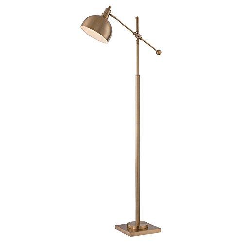 Lite Source Floor Lamps LS-82604 Cupola Floor Lamp, Brushed Brass