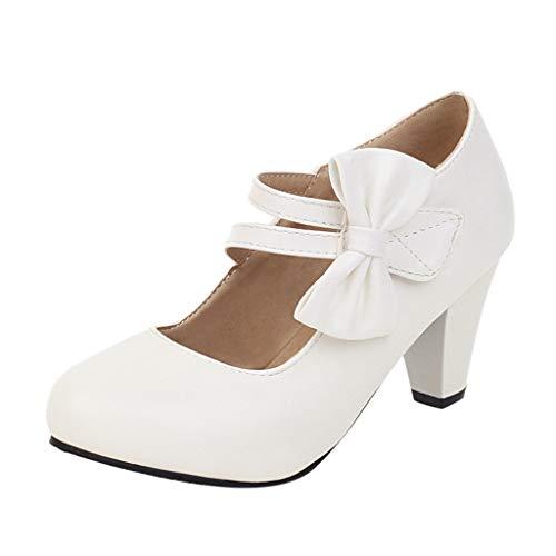 FRAUIT Mary Jane Donna Tacco Alto Scarpe Donna Eleganti Decollete Tacco Largo Sandali Ragazza Eleganti Con Tacco Medio Con Chiusura Fibbia Da Cerimonia Sandalo Sandals