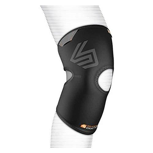 Shock Doctor Knee Compression Sleeve (Black, Large)