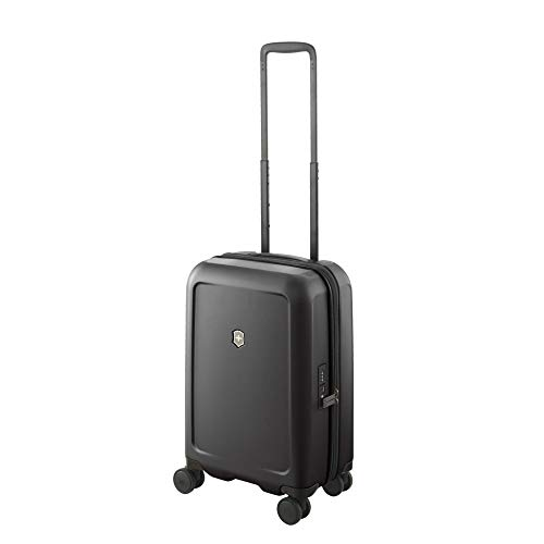 """Victorinox Connex Hardside Spinner Luggage, Black, Carry-On, Frequent Flyer (22"""")"""