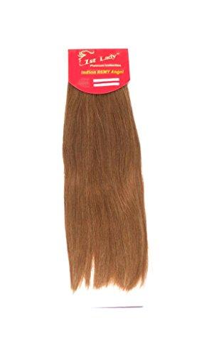 45,7 cm Premium indien Ange 100% Remy Extension de cheveux humains tissage 113 g # S6 (# 27)