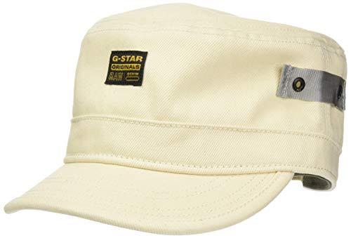 G-STAR RAW Mens Duty Cap, Ecru C525-159, One Size fits All