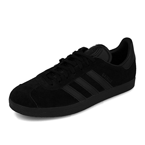 adidas Herren Gazelle CQ2809 Fitnessschuhe, Schwarz (Negbas/Negbas/Negbas 000), 43 1/3 EU,43 1/3 EU