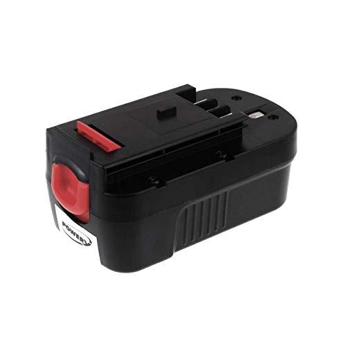 Powery Batería para Black & Decker Cortasetos GTC610 2000mAh