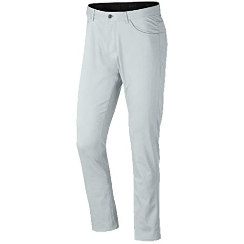 Nike Flex Slim 5 Pocket Golf Pants 2019 Pure Platinum/Wolf Gray 36/32