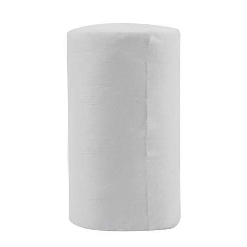 Baby spülbar biologisch abbaubar Einweg Windel Windel Bambus Liner 100 Blatt für 1 Rolle 18cmx30cm (weiß)