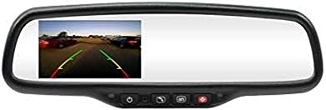 Rostra 250-8821 Auto Dimming Mirror Monitor, 4.3 Inch LCD Compass/Temp with OnStar