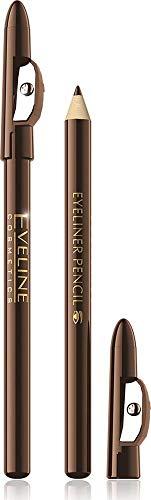 EVELINE Eyeliner Pencil lange haltend mit Anschpitzer, Brown
