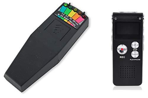 K2Kii-II EMF Messer On-Off-Schalter–8GB Digital EVP Recorder & Paranormal CD