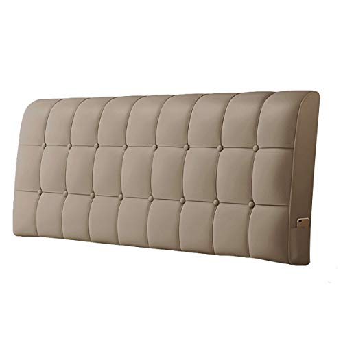 KDAB Leather Soft Case Queen Headboard 19 Colors 150cm (Color : 16, Size : Without headboard)