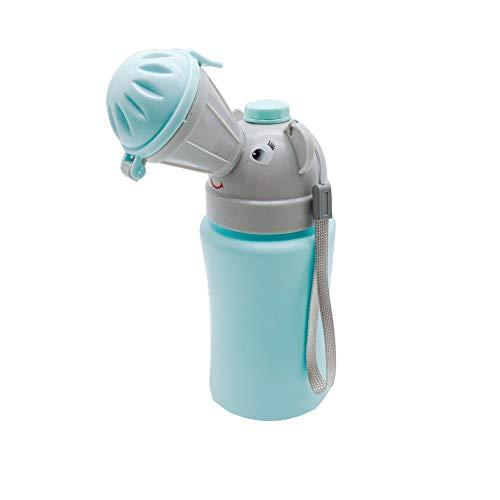 Orinal para niños Coche Portátil a prueba de fugas Mini dispositivos urinarios Orinal Botella de inodoro Taza de entrenamiento para niños para viajes Camping Parque (niño)