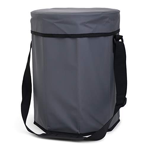 Tarpaulin Sit & Coolerbag sporttas, 38 cm, 24 L, grijs