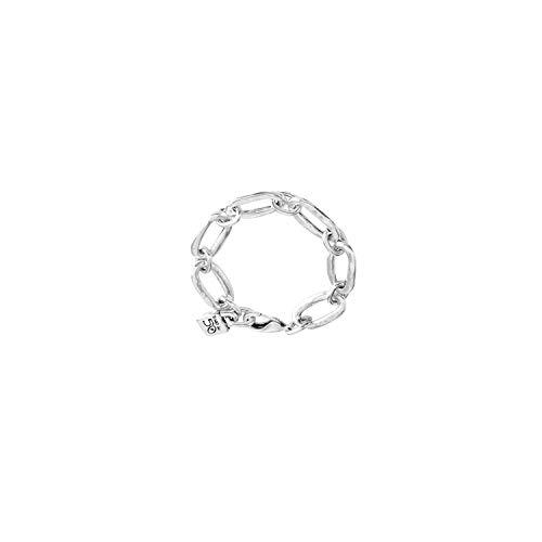 Uno De 50 - Bracciale da donna Classics, placcato argento, 16 cm, PUL0949MTL0000M