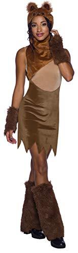 Rubie's Damen Star Wars Classic Women's Ewok Dress, Large Kostüme für Erwachsene, Farbe wie abgebildet