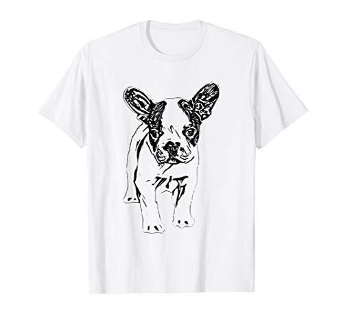Bulldogge Shirt Hund Haustier Herrchen Damen Herren Kinder T-Shirt