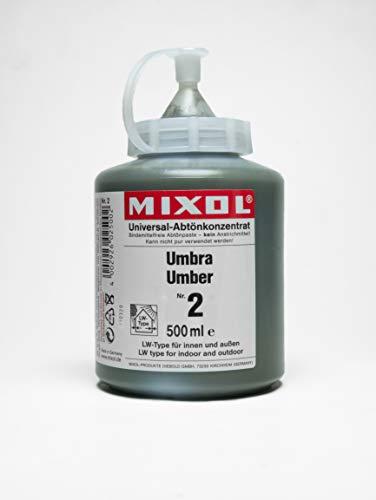 500ml MIXOL Universal-Abtönkonzentrat # 2 Umbra
