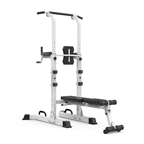 HGXC Barras paralelas individuales para uso doméstico levantamiento de pesas, banco de prensa, entrenamiento de fitness