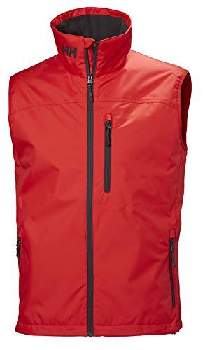 Helly Hansen Crew Vest, Gilet sportivo Uomo, Rojo 222, XL
