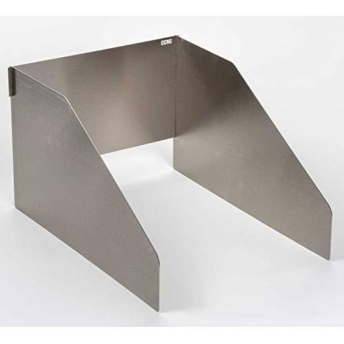 Sizzle Protection Wind und Spritzschutz für Napoleon Gasgrill Infrarot Grill Seitenbrenner Sizzle Zone
