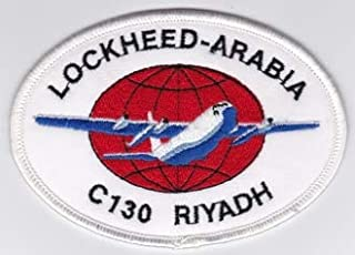 PATCHMANIA RSAF Patch Tech Royal Saudi Air Force C 130 Maintenance Riyadh a 76mm 108mm Parches Bordados THERMOADHESIVE Patch