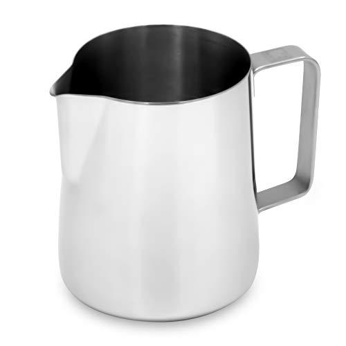 Lambda Coffee® Barista Milchkännchen 600ml | Hochglanz Edelstahl