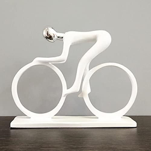DXZQ Esculturas y Accesorios Decorativos Estatuas Nueva decoración de la casa Sala de Estar Bicicleta Armario de Vino Armario de TV Oficina hogar decoración Suave joyería Artesanal