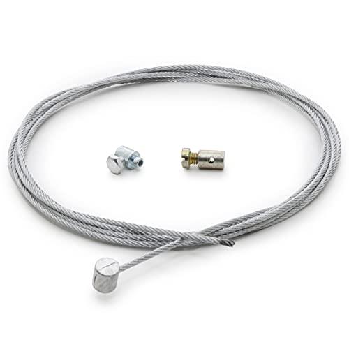 Cable de Embrague Universal Easyboost de 2m con Abrazadera para Moto y Cross