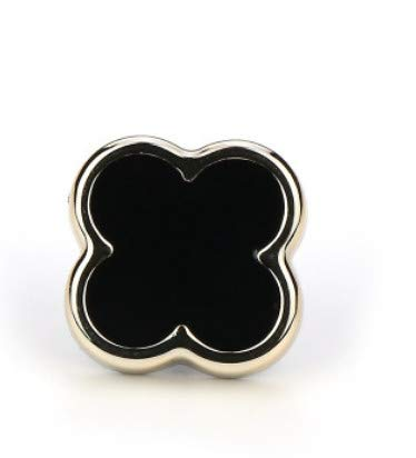 Botón antideslumbrante Pequeño Estilo Fragancia Botón Broche Camisa Metal Hebilla Decorativa Botón Libre de Clavos Extraíble 50 8 #