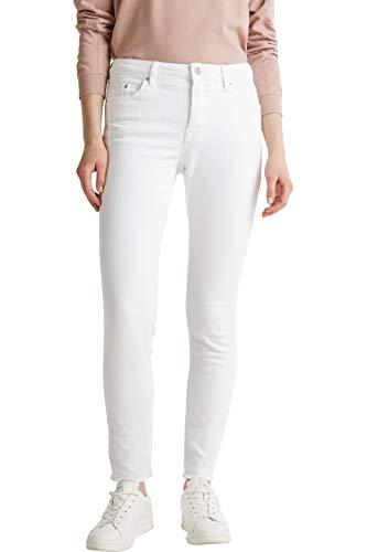 Esprit Damen 040EE1B312 Jeans, 100/WHITE, 28/28