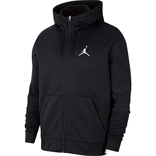 Nike Jordan Air Therma Full-Zip Trainingsjacke Black/White (L)
