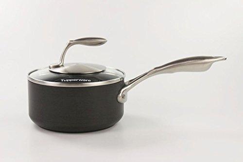 TUPPERWARE Chef Serie Cottage Cookware Stielkasserolle 1,4 L antihaftbeschichtet