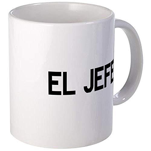 El JEFE Tazas Taza de café única